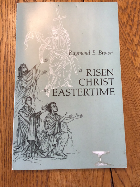 A risen Christ in Eastertime by Raymond E. Brown