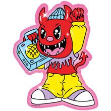 Load image into Gallery viewer, Democracy Devil Sticker