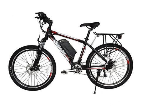 NEW 2016 Summit 48V LiPo4 Mid Motor Electric Mountain Bicycle