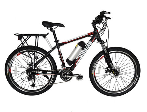NEW 2016 Summit 36V LiPo4 Mid Motor Electric Mountain Bicycle