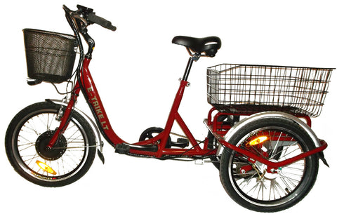 Electric Trike LT - For riders under 250 pounds