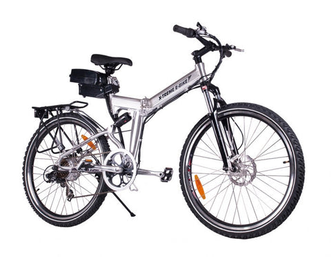 X-Cursion Folding Electric Bicycle - Lithium Powered