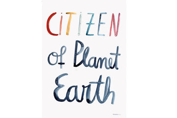 Poster Citizen of Planet Earth