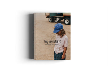 Tiny Adventures - On the road with Kids // Coffee Table book (in German)