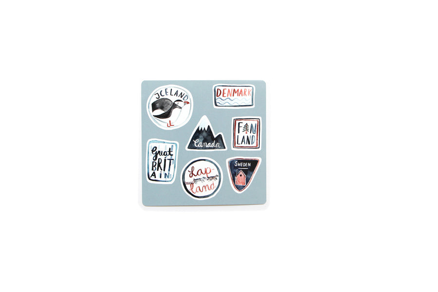 Tiny Adventures Reisesticker
