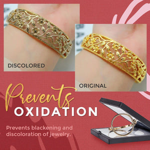 Time Clip Anti-oxidation Jewelry Box