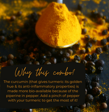 Load image into Gallery viewer, Combo - Turmeric Powder & Pepper (500g*2)