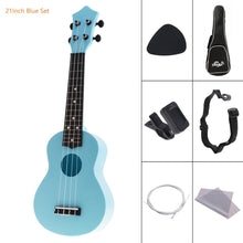 Load image into Gallery viewer, Colorful Soprano Acoustic Ukulele Beginner's Kit