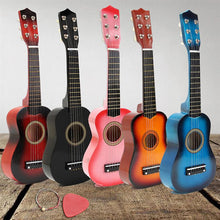 Load image into Gallery viewer, 21 inch Colorful Nylon 6 String Mini Classical Guitar