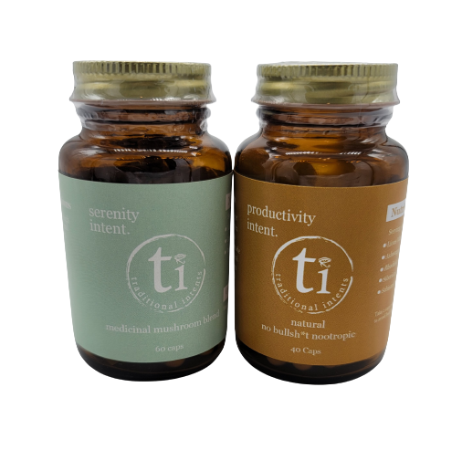 Productivity + Serenity | IMPROVES BRAIN FUNCTION, FOCUS AND ENERGY WHIL REDUCING ANXIETY AND PROMOTING GENERAL WELLBEING