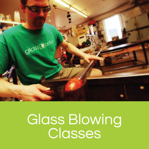 Glass Blowing Classes! - We promise our classes will be back!