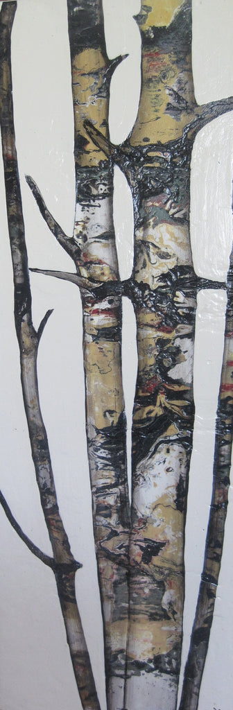 Birch Trees 241 - Glass Art - Kingston Glass Studio - Blown Glass - Glass Blowing