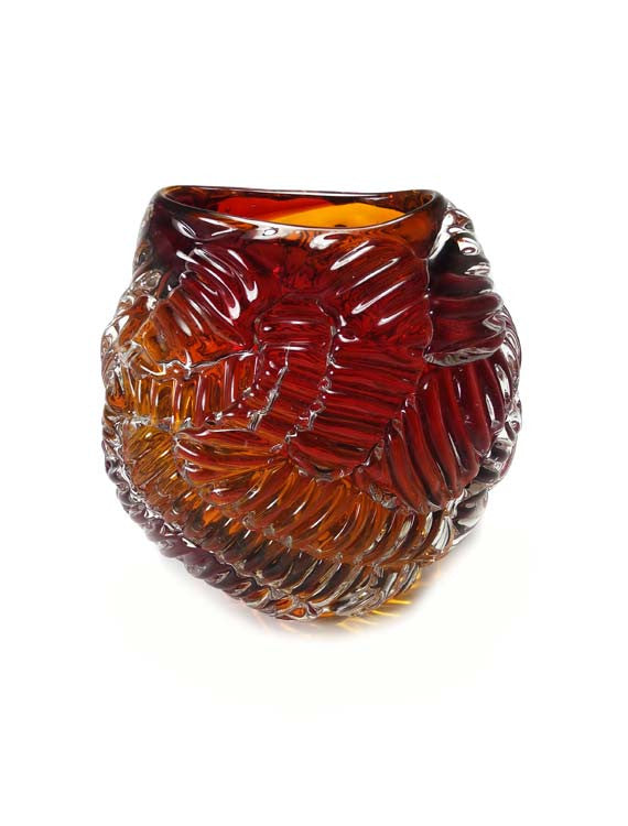 Bit Vase - Glass Art - Kingston Glass Studio - Blown Glass - Glass Blowing