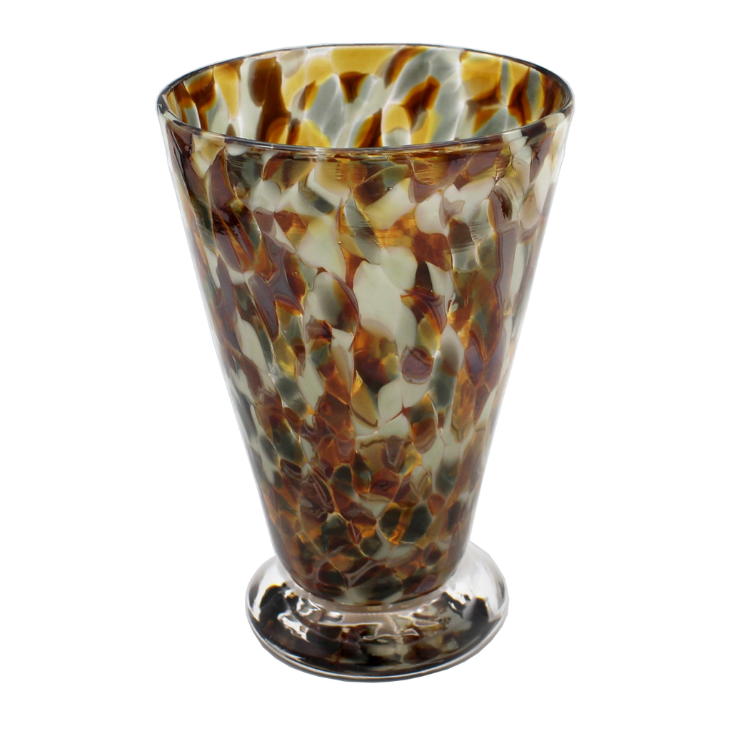 Neutral Speckle Cups - Glass Art - Kingston Glass Studio - Blown Glass - Glass Blowing