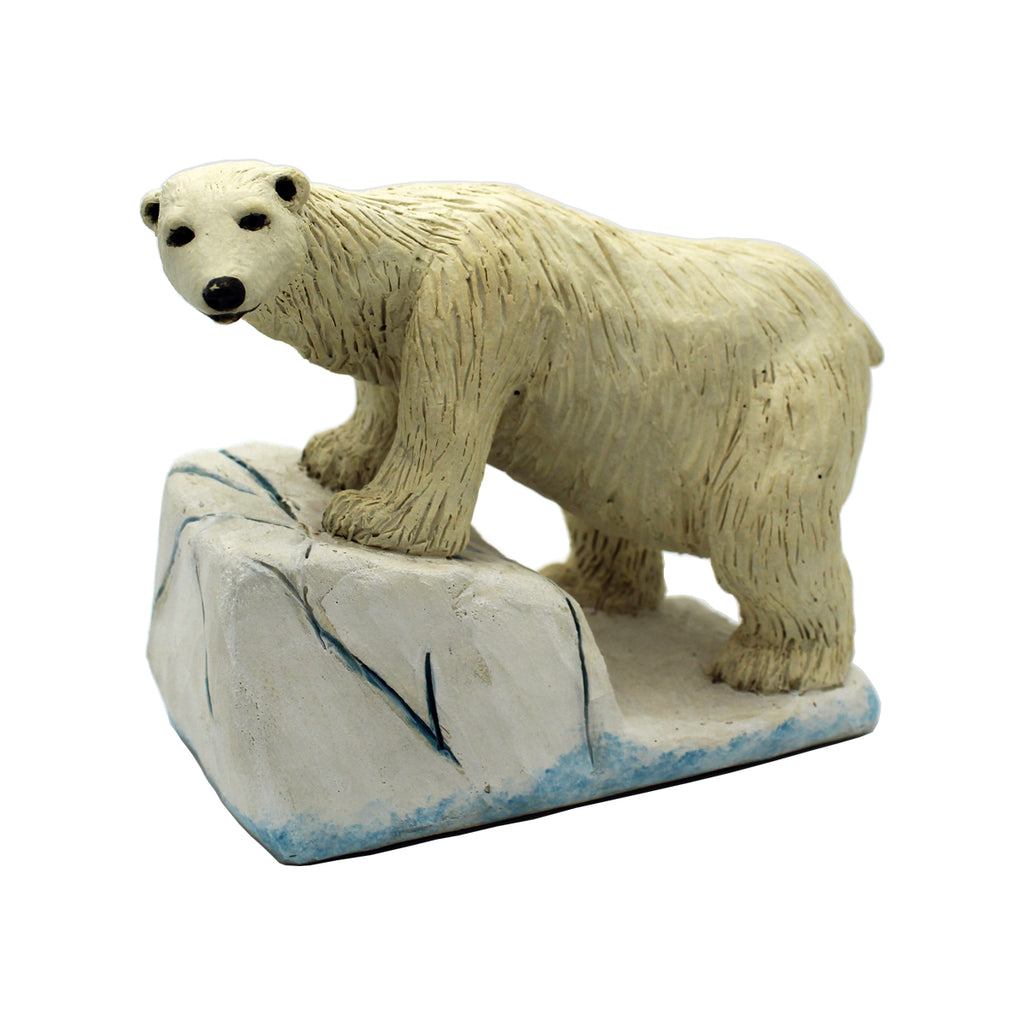 Shrinking Habitat - Polar Bear - Glass Art - Kingston Glass Studio - Blown Glass - Glass Blowing
