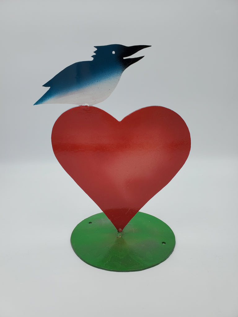 Love Birds - Glass Art - Kingston Glass Studio - Blown Glass - Glass Blowing