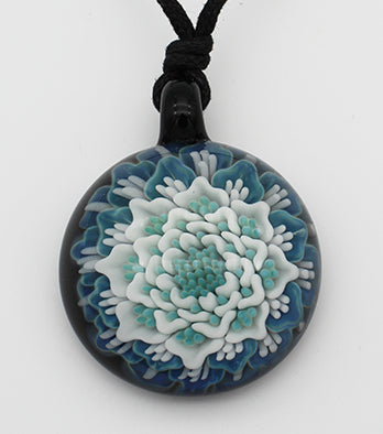 Implosion Pendants - Glass Art - Kingston Glass Studio - Blown Glass - Glass Blowing