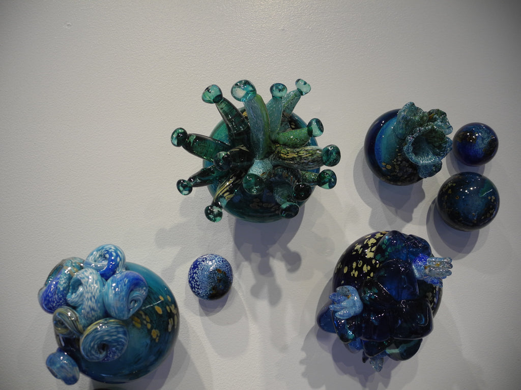 Living Tides - Glass Art - Kingston Glass Studio - Blown Glass - Glass Blowing