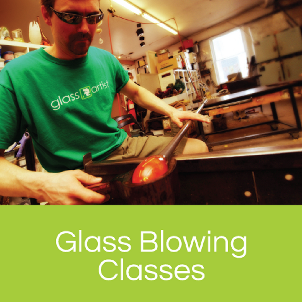 Glassblowing Class Gift Certificate - Glass Art - Kingston Glass Studio - Blown Glass - Glass Blowing
