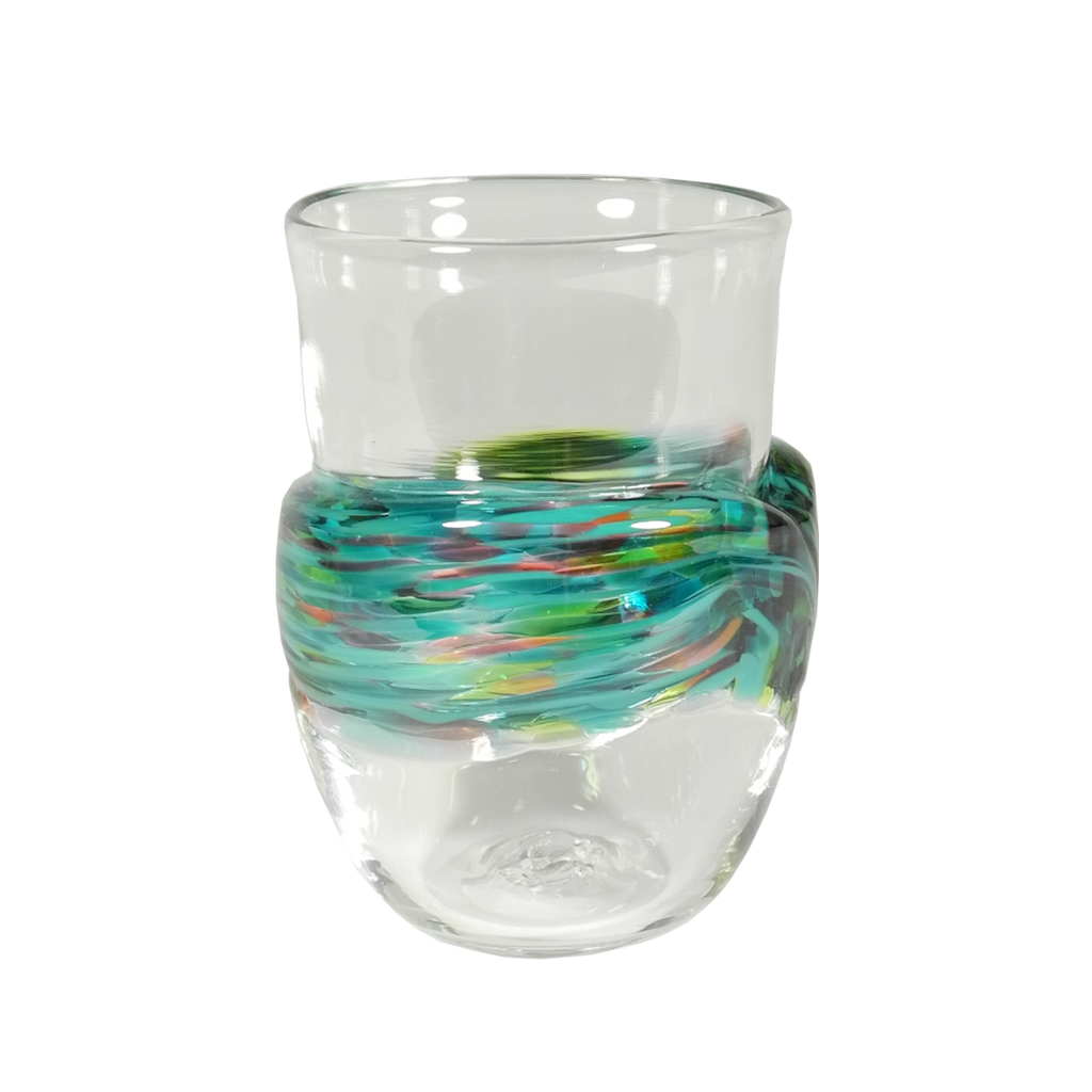 Wrap Cup - Glass Art - Kingston Glass Studio - Blown Glass - Glass Blowing
