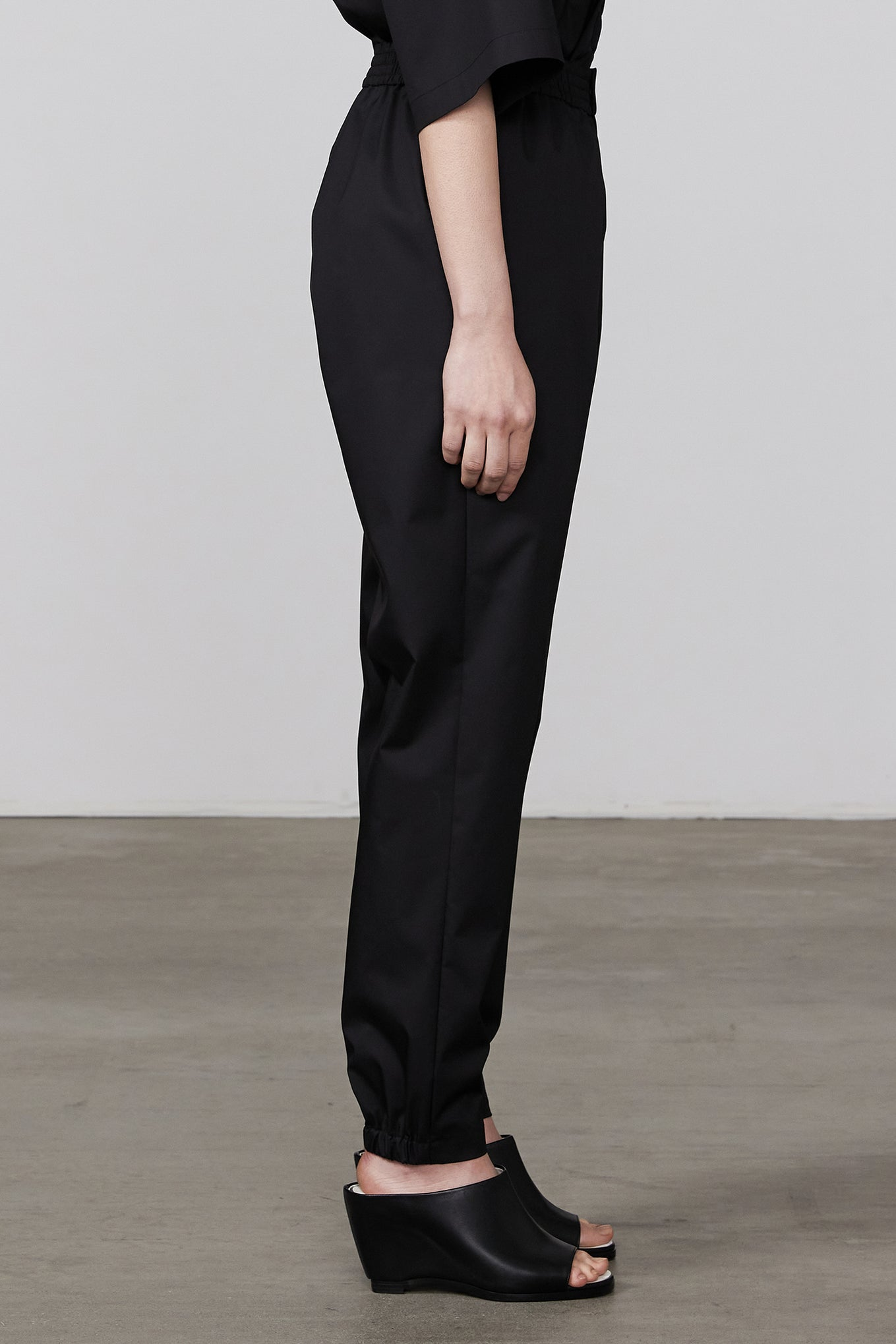 T/C EASY TAPERED PANTS