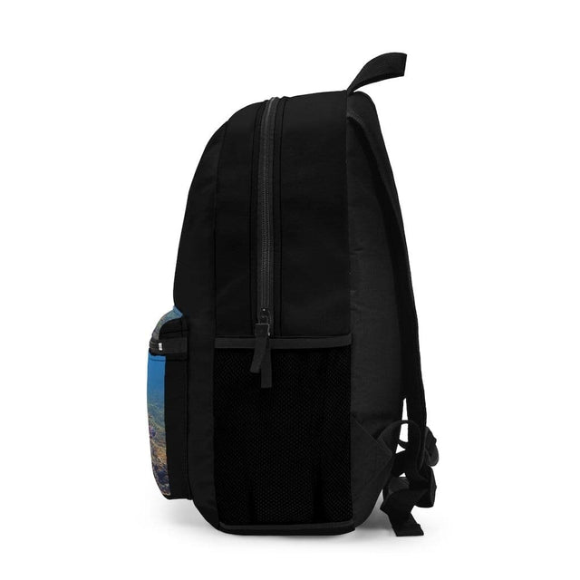 Load image into Gallery viewer, Hawaiian Seascapes Black Backpack