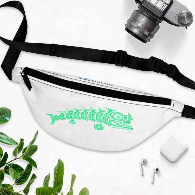 Load image into Gallery viewer, Salmon Adventure Fanny Pack