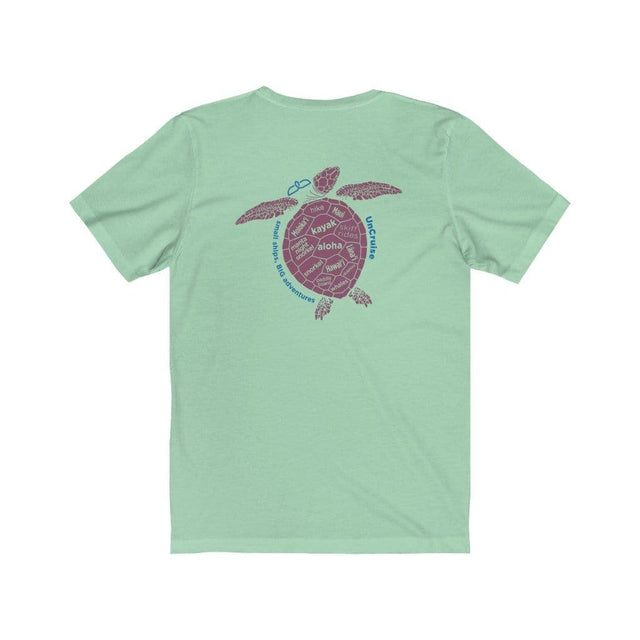 Load image into Gallery viewer, Turtle Fins Unisex Jersey Short Sleeve Tee