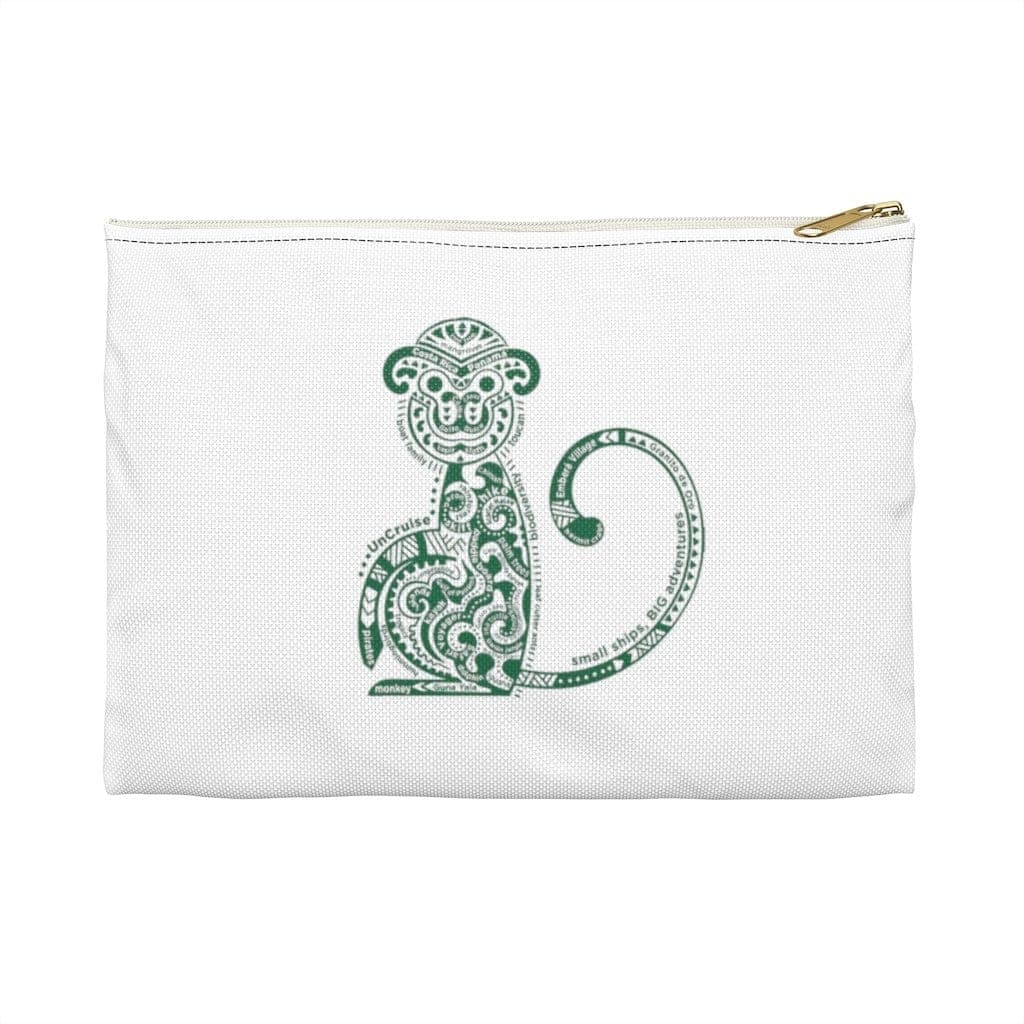 Monkey Life Imprinted Accessory Bag