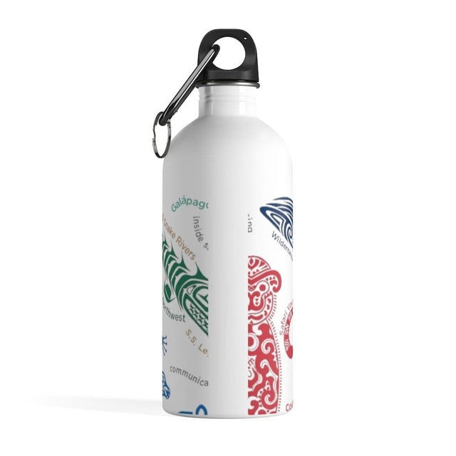 Load image into Gallery viewer, Destinations White Stainless Steel Water Bottle