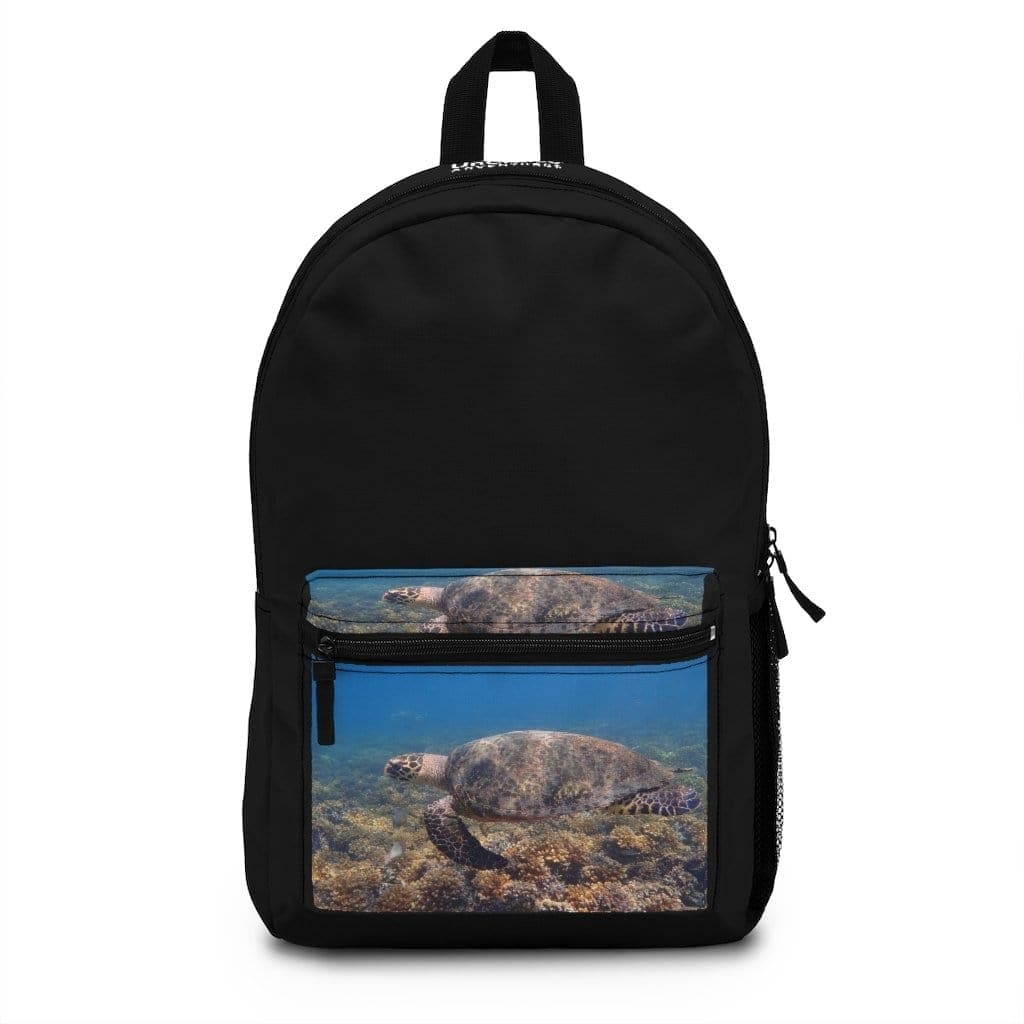 Hawaiian Seascapes Black Backpack