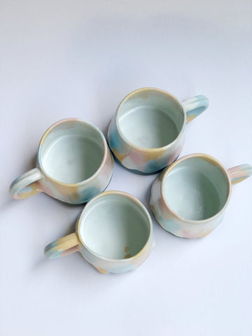 Short Vase with Dots