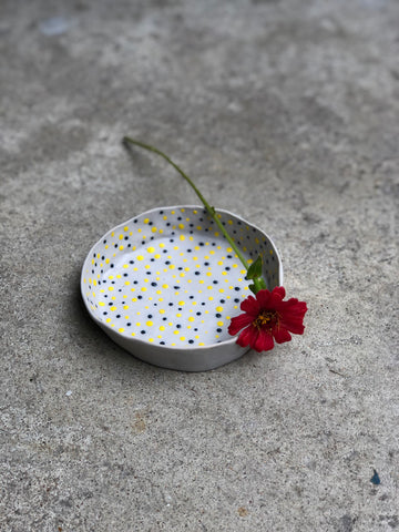 Polka Dot Ring Dish