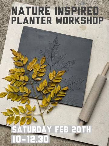 Nature Inspired Planter - One day Workshop