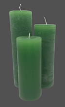 Load image into Gallery viewer, Dalina flower candle | green | ~ 130h burning time