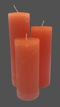 Load image into Gallery viewer, Dalina flower candle | light orange | ~ 130h burning time