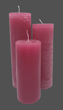 Load image into Gallery viewer, Dalina flower candle | raspberry pink | ~ 130h burning time