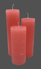 Load image into Gallery viewer, Dalina flower candle | coral | ~ 130h burning time
