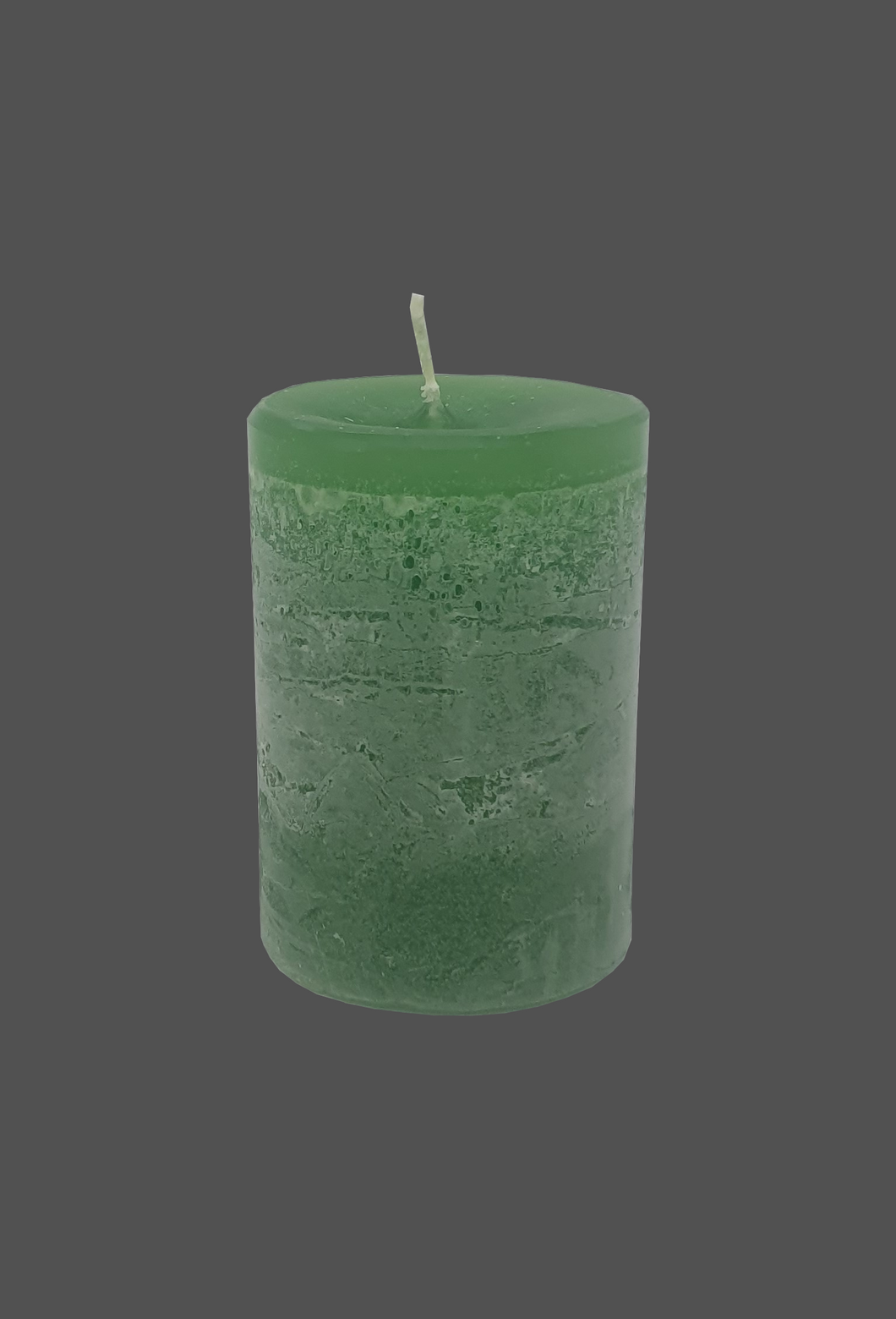 Table candle | green | ~ 48h burning time