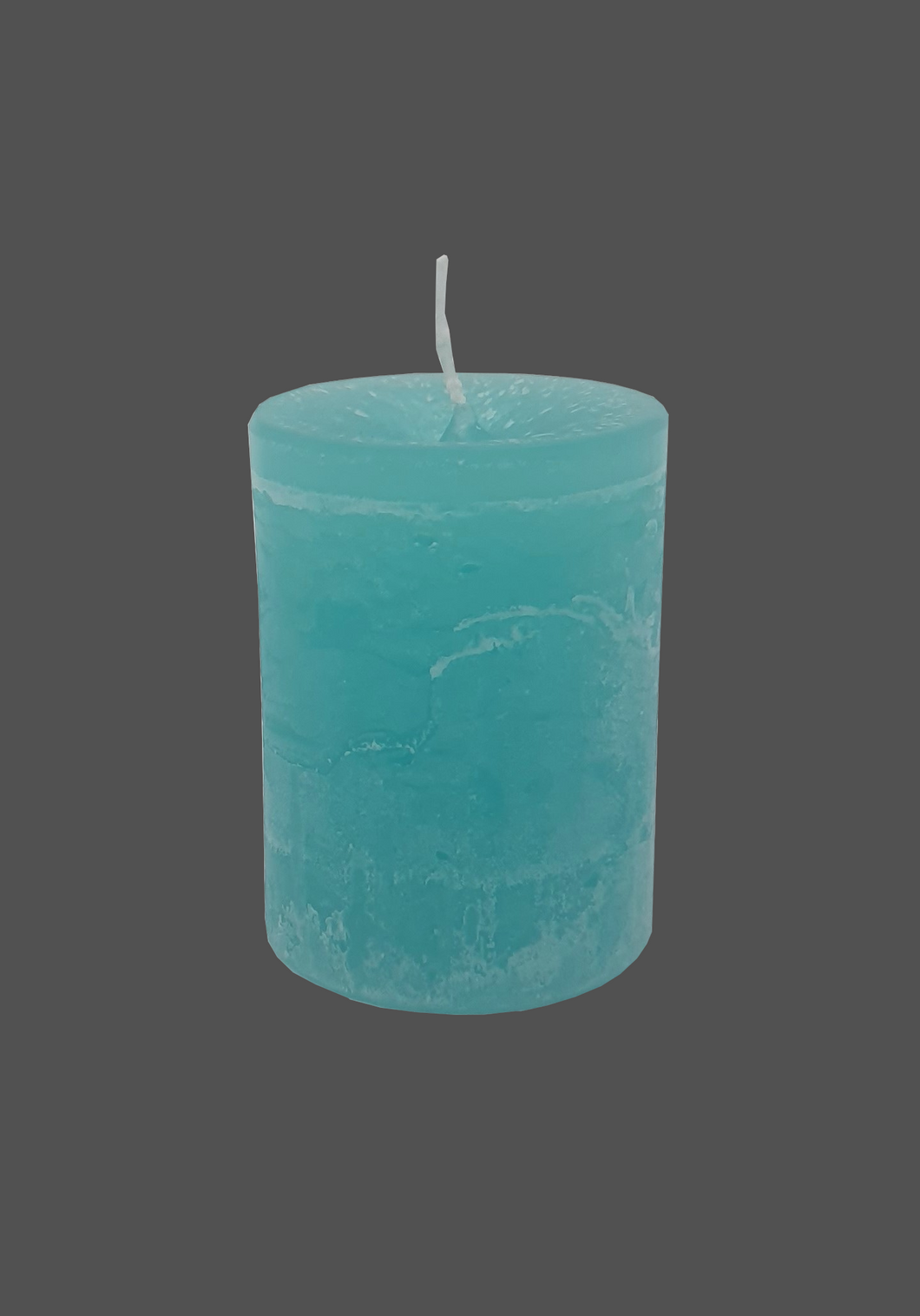 Table candle | turquoise | ~ 48h burning time