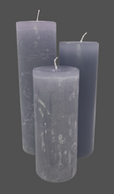 Load image into Gallery viewer, Dalina flower candle | gray | ~ 130h burning time