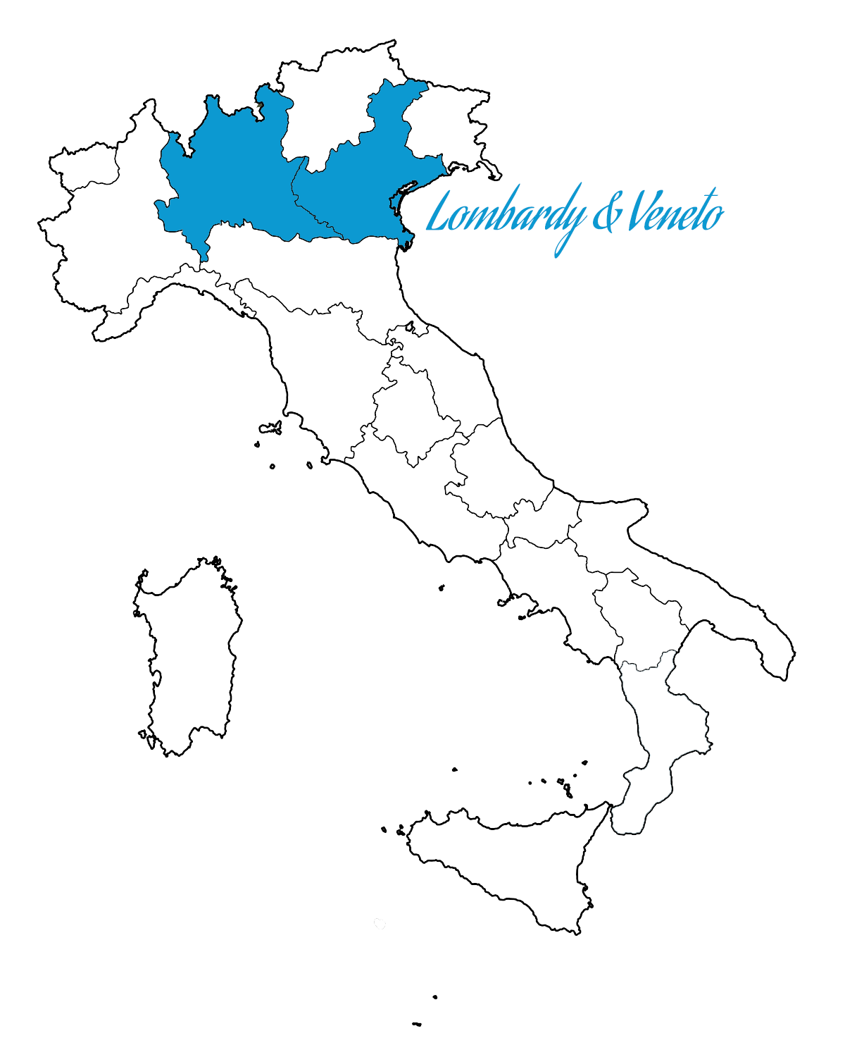 Map Of North East Italy.North Italy Tour Lombardy And Veneto Favotto Tours