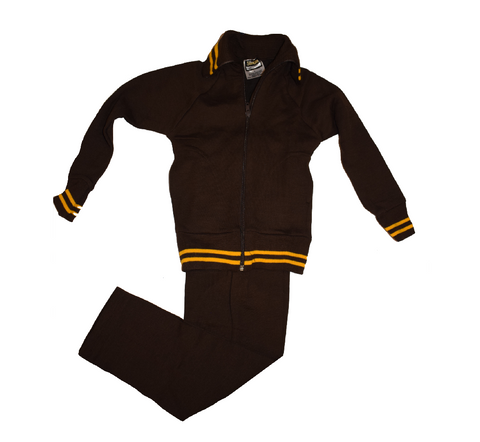 Brown & Gold Tracksuit