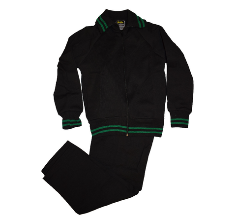 Black & Green Tracksuit