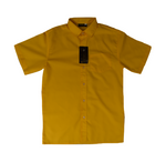 Short Sleeve Gold Shirt