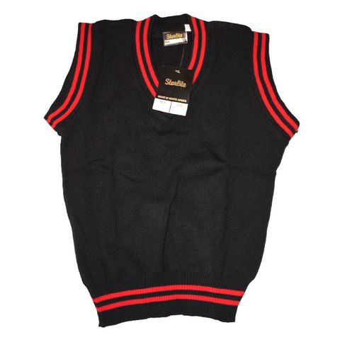 Black & Red Pullover