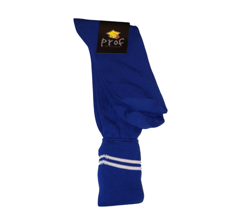Royal Blue & White School Socks