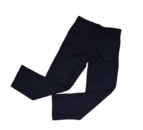Girls Navy Blue School Trouser