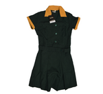 Bottle Green & Gold School Tunic