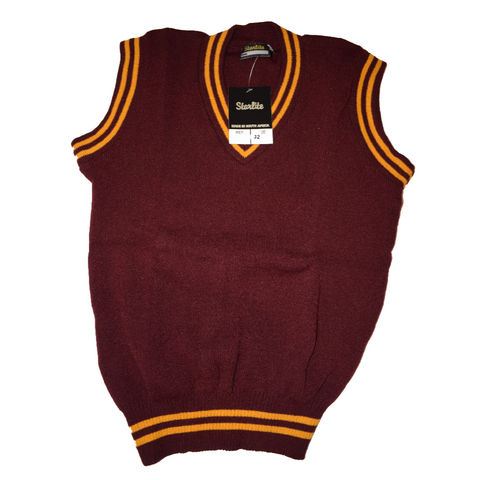 Maroon & Gold Pullover